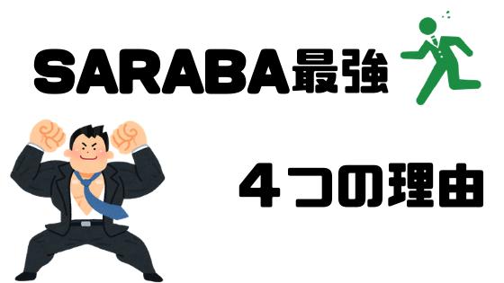 サービス内容×料金で「退職代行SARABA」が最強になる4つの理由